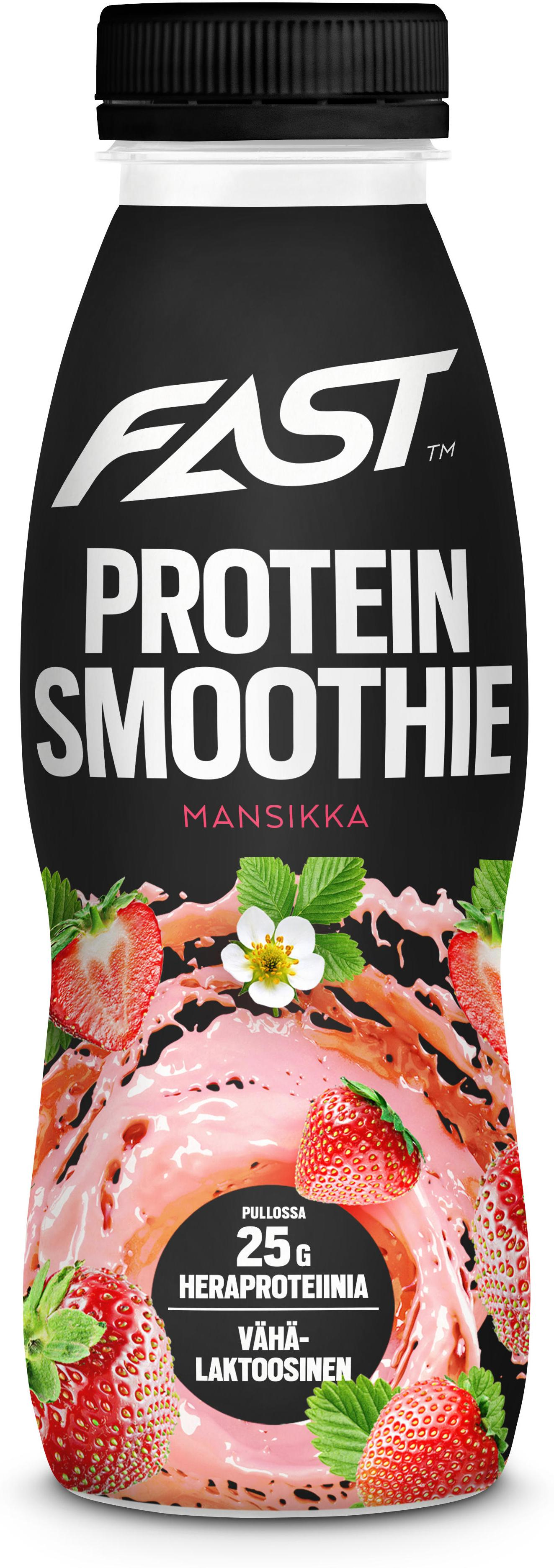 Piće FAST Natural Protein Smoothie strawberry 330 ml