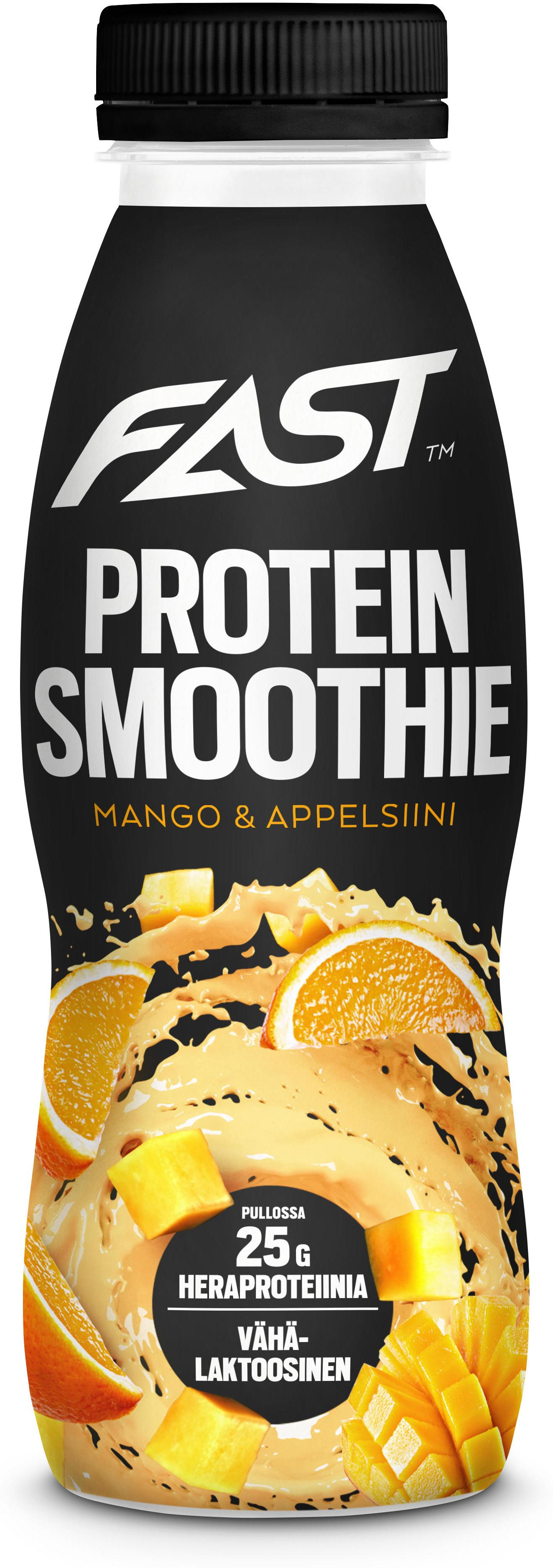 Piće FAST Natural Protein Smoothie mango-orange 330 ml