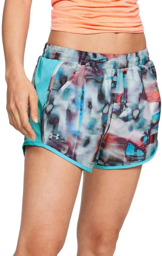 Kratke hlače Under Armour Fly By Printed Short