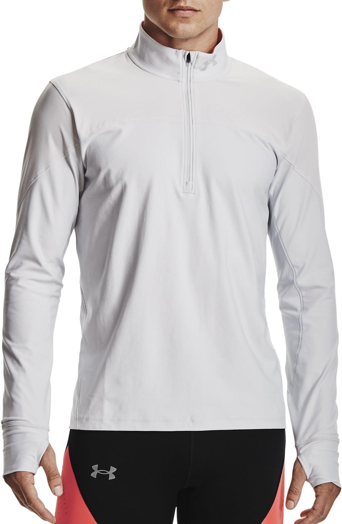 Trenirka Under Armour UA QUALIFIER HALF ZIP-GRY