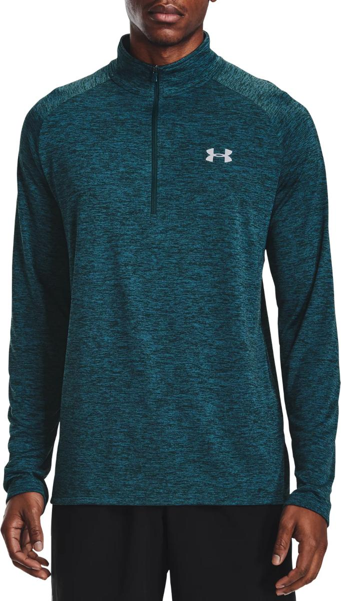 Majica dugih rukava Under Armour UA Tech 2.0 1/2 Zip-BLU